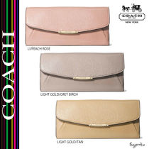 COACH★MADISON SLIM ENVELOPE WALLET IN LEATHER