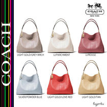 【COACH】MADISON SMALL PHOEBE SHOULDER BAG IN LEATHER