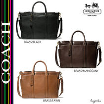 COACH★BLEECKER METROPOLITAN BAG IN LEATHER