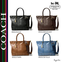 COACH★BLEECKER LEGACY BUSINESS TOTE IN LEATHER