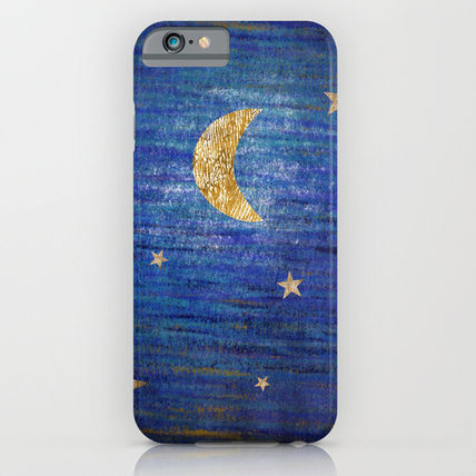Society6 iPhone・スマホケース Society6 ケース Moon and stars by Inmyfantasia