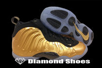 Nike Little Posite GS Metallic Gold 3.5-7Y ゴールド 送料無料