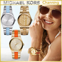 【新作☆日本未入荷】Michael Kors Channing Acetate Watch