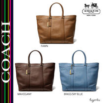 COACH★BLEECKER LEGACY WEEKEND TOTE IN LEATHER