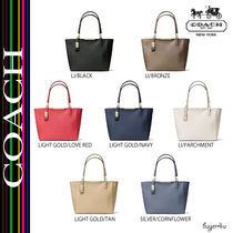 COACH★MADISON EAST/WEST TOTE IN SAFFIANO LEATHERATHER