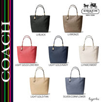 COACH★MADISON NORTH/SOUTH TOTE IN SAFFIANO LEATHER