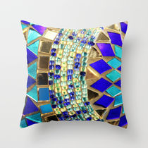 Society6★クッションカバー★mosaic and beads [photograph] by