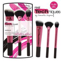 Real Techniques(リアルテクニクス) ブラシ 限定☆Real Techniques☆Sculpting Kit☆コンターブラシセット