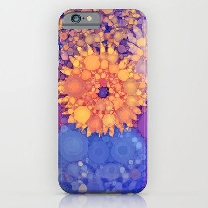 Society6 iPhone・スマホケース Society6 ケース Vintage Flowers in the rain by Love2Snap