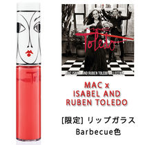 MAC x ISABEL AND RUBEN TOLEDO [限定] リップガラス Barbecue色