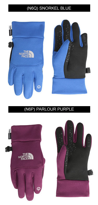 最短翌日着)THE NORTH FACE YOUTH ETIP GLOVE  イーチップ