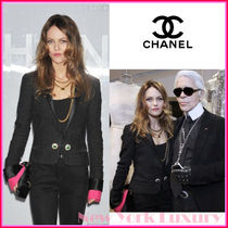 CHANEL★シャネル★素敵!Removable Pink Cuffs Jacket
