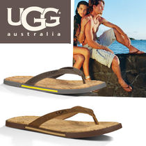 ●UGG Australia● Bennison II Cork サンダル/ LUGGAGE,METAL