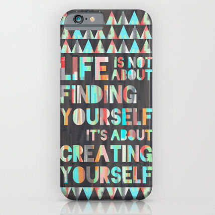 Society6 iPhone・スマホケース Society6 ケース Create Yourself by Jacqueline Maldonado