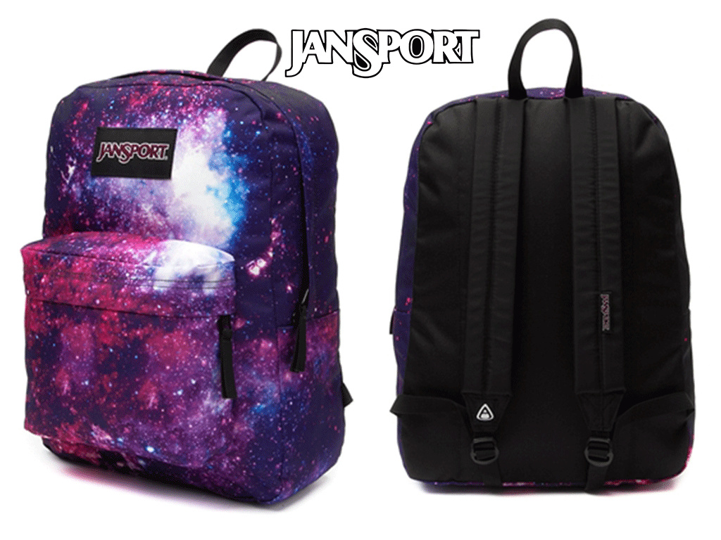♪*¨¨*JanSport Superbreak Galaxy Backpack Multi*¨¨*♪