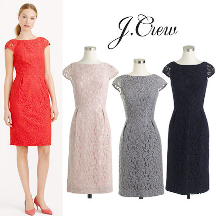 送関込★J Crew★ELSA DRESS IN LEAVERS LACE 3カラー