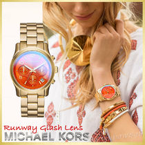 【日本未入荷☆新作】Michael Kors Runway Flash Lens Watch