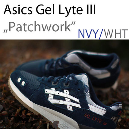 "ASICS Gel Lyte III / 3 ""Patchwork"" Nvy/Wht 24〜28cm"