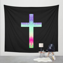 Society6◆タペストリー◆CROSS by M Studio
