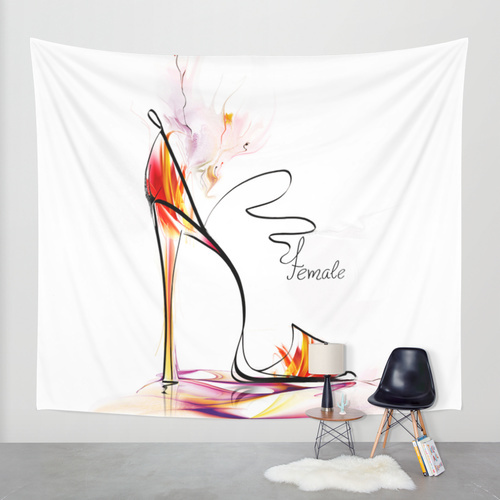 Society6◆タペストリー◆high heel by Tatiana-teni