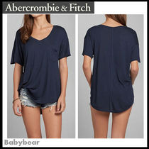【Abercrombie & Fitch】日本未入荷☆Taylor Tee 長め丈半袖T