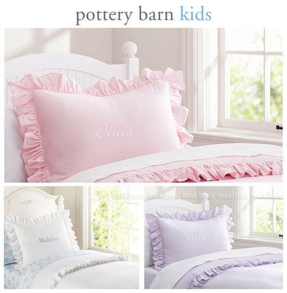PB KIDS bedding duvet cover set initial put-adults too