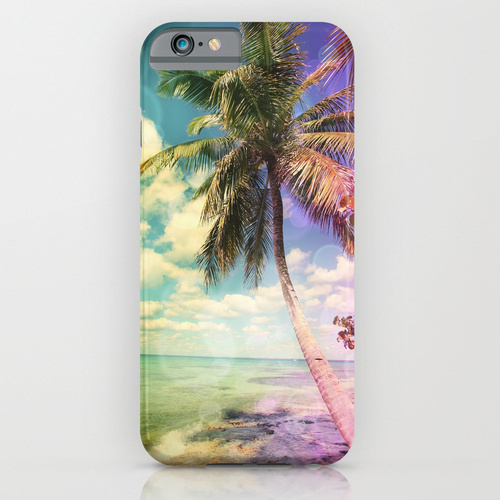Society6 ケース Prismatic Palm by Christine Aka Stine1