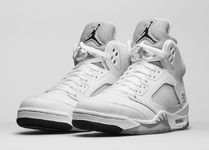 "[NIKE]AIR JORDAN 5 RETRO ""METALLIC SILVER"" ジョーダン 送料込"