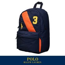 /RALPH LAUREN 正規品/EMS無料発送/STRIPE BACKPACK NAVY