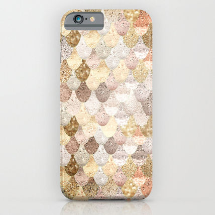 Society6 iPhone・スマホケース Society6 ケース REALLY MERMAID GOLD by Monika Strigel