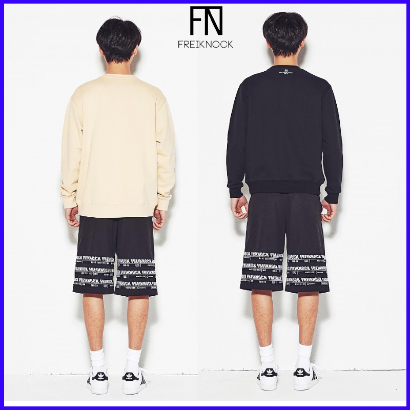 stylewow★大人気韓流スター愛用Freiknock Banded sweat shirts