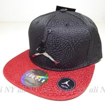 送料込み★ユース★Jordan Jumpman Metal Logo Cap Black/Red