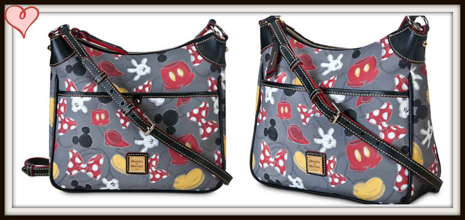 新作☆Disney Best of Mickey ショルダーbyDooney & Bourke