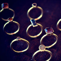 Lux Divine(ラックス・ディバイン) 天然石・パワーストーン LA発・Lux Divine★ELEGANCE Rings Gold★
