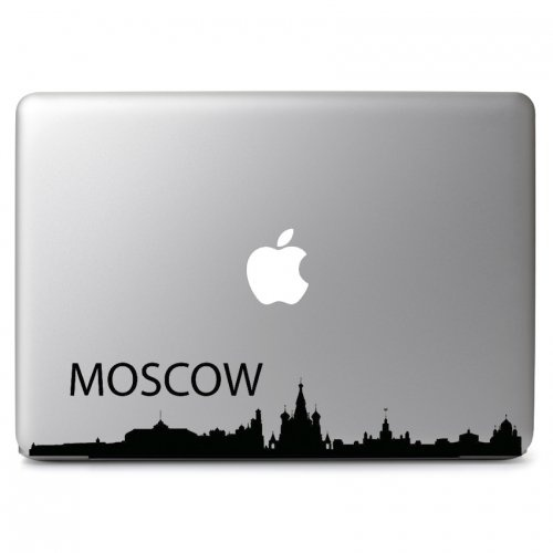 MacBook 対応 アートステッカー モスクワ Moscow City