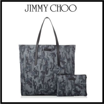 JIMMY CHOO Grey Mix camouflage sport