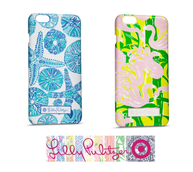 【Target コラボ】 2種類 iPhone 6+ プラスLilly Pulitzer ★