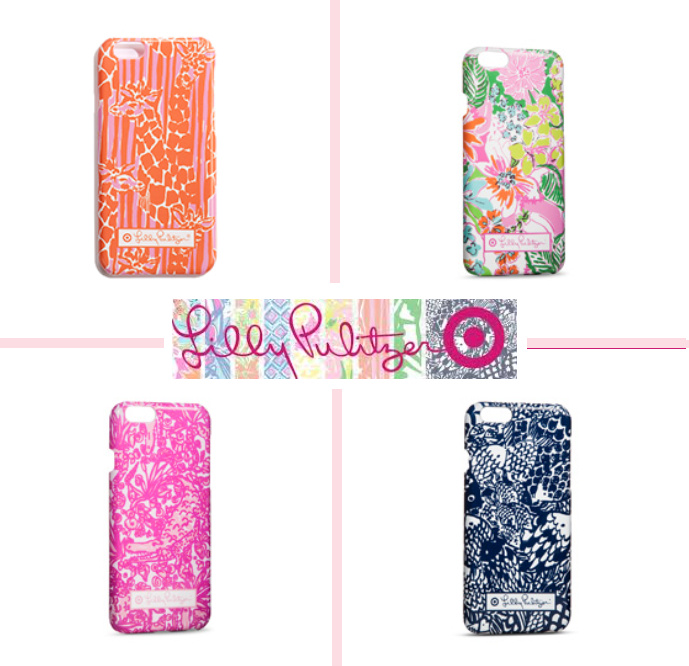 【Target コラボ】 4種類 iPhone 6 Lilly Pulitzer ★