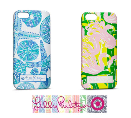 Lilly Pulitzer iPhone・スマホケース 【Target コラボ】 2種類 iPhone 5 /5S Lilly Pulitzer ★