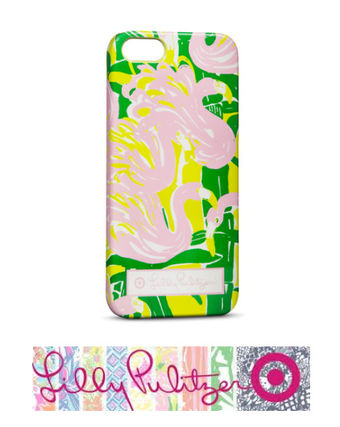 Lilly Pulitzer iPhone・スマホケース 【Target コラボ】 2種類 iPhone 5 /5S Lilly Pulitzer ★(3)