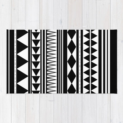 Society6◆洗えるラグマット◆Tribal #5 by Haleyivers