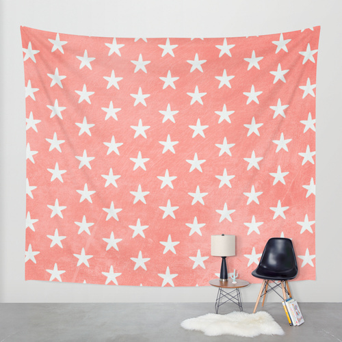 Society6◆タペストリー◆Starfish Peach by AlterEGO