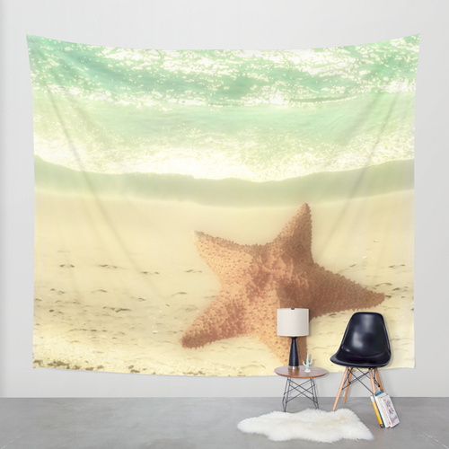 Society6◆タペストリー◆VINTAGE STARFISH by Studio70