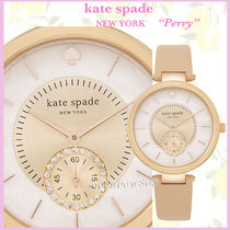【 日本未入荷】★Kate Spade New York Perry レザー watch