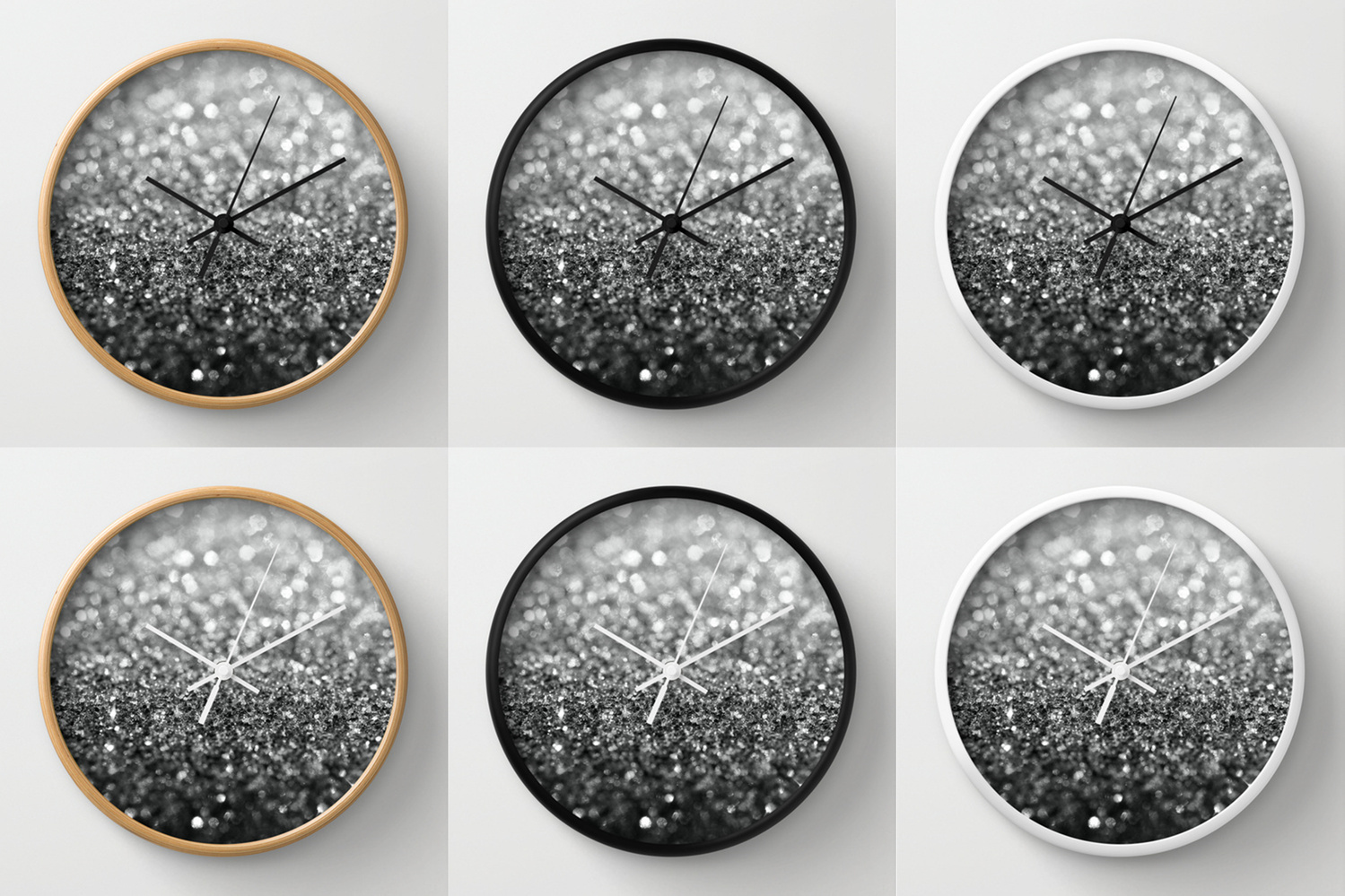 Society6★置き時計・掛け時計★Eclipse by Lisa Argyropoulos