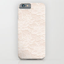 Society6 ケース Lace Love by Pink Berry Patterns