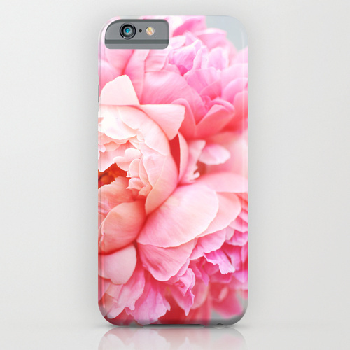 Society6 ケース Peonies Forever by Ez Pudewa