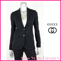 GUCCI★グッチ★素敵! BLACK WOOL BLEND Jacket