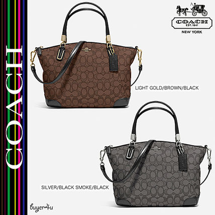 COACH★人気☆SMALL KELSEY CROSSBODY IN SIGNATURE JACQUARD♪