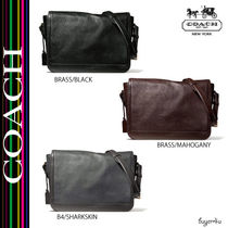 COACH★CROSBY BUSINESS MESSENGER IN BOX GRAIN LEATHER